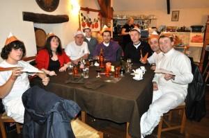 Saint Sébastien - Diner au Restaurant